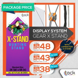 Gear X Stand (with print)